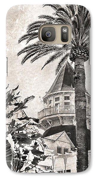 Hotel Del Coronado Galaxy S7 Case by Peggy Hughes