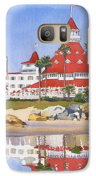 Hotel Del Coronado Reflected Galaxy Case by Mary Helmreich