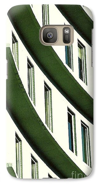 Galaxy Case featuring the photograph Hotel Ledges Of A New Orleans Louisiana Hotel by Michael Hoard