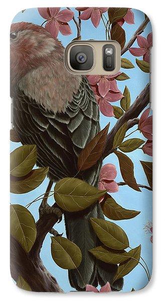 House Finch Galaxy S7 Case by Rick Bainbridge