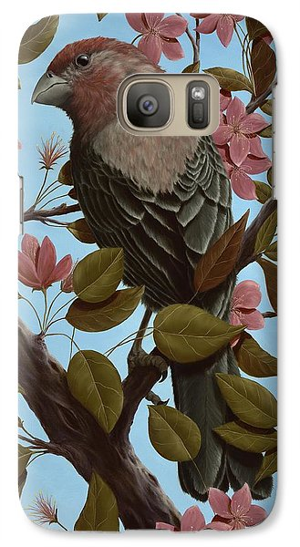 House Finch Galaxy S7 Case by Rick Bainbridge