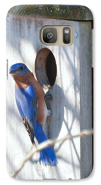 Galaxy Case featuring the photograph House Hunting by Kerri Farley