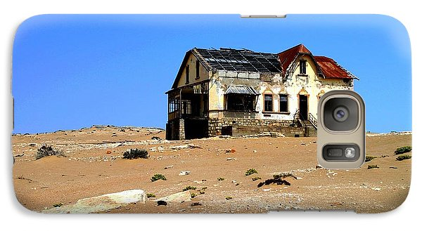 Galaxy Case featuring the photograph House In The Desert by Riana Van Staden