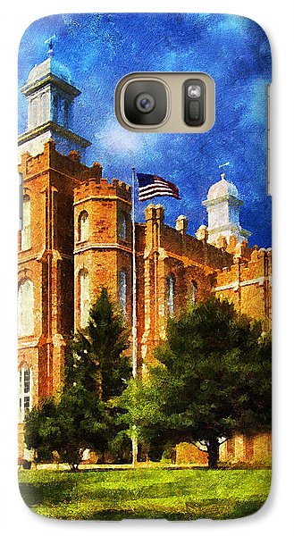 Galaxy Case featuring the digital art House Of Learning by Greg Collins
