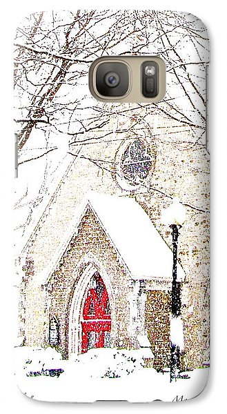 Galaxy Case featuring the photograph House Of Mracles by Margie Amberge
