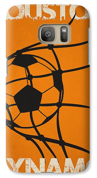 Soccer Galaxy S7 Case - Houston Dynamo Goal by Joe Hamilton