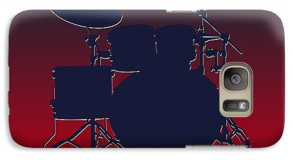 Houston Texans Drum Set Galaxy S7 Case by Joe Hamilton