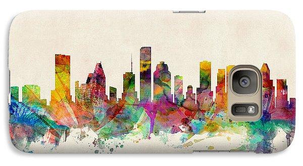 Houston Texas Skyline Galaxy S7 Case