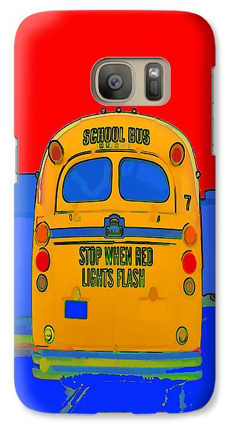 Galaxy Case featuring the photograph Hoverbus - Phone Case Design by Gregory Scott