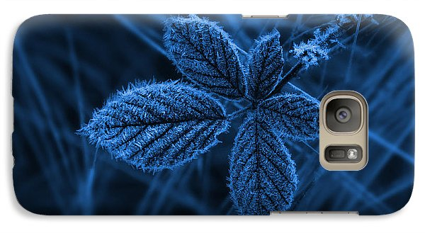 Galaxy Case featuring the photograph How Cold by Keith Hawley