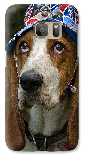 Galaxy Case featuring the photograph How Cute Am I........ by Judy  Johnson