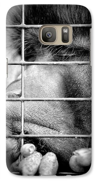 Galaxy Case featuring the photograph How Do I Get Out Of Here by Barbara Dudley