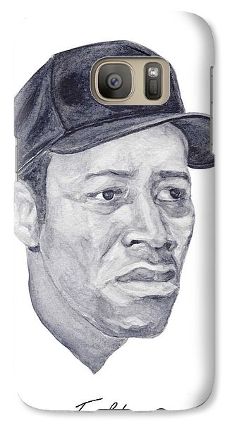 Galaxy Case featuring the painting Howard by Tamir Barkan