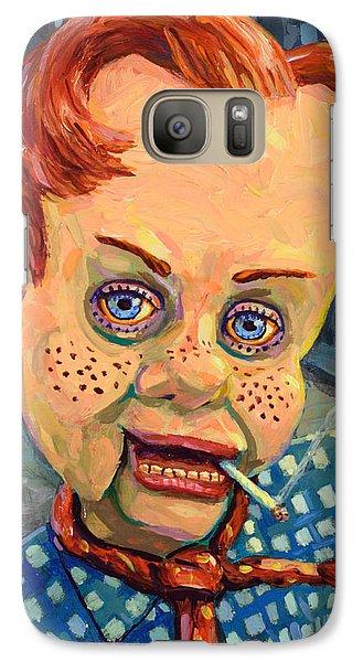 Howdy Von Doody Galaxy S7 Case by James W Johnson