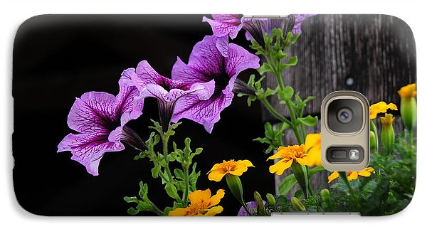 Galaxy Case featuring the photograph Howe Covered Bridge Beauty by Mike Martin
