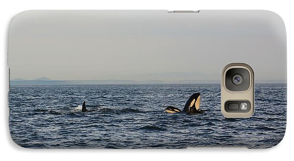 Galaxy Case featuring the photograph How's The View? by Gayle Swigart