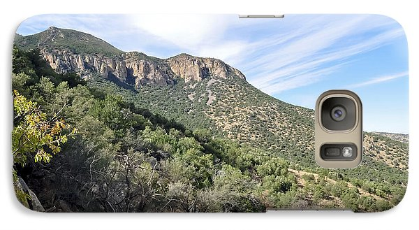 Galaxy Case featuring the photograph Huachuca Mountains by Gina Savage