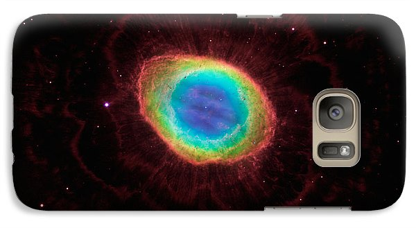 Galaxy Case featuring the  Hubble Reveals The Ring Nebulas True Shape by Paul Fearn