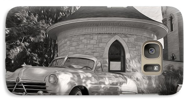 Galaxy Case featuring the photograph Hudson Commodore Convertible by Verana Stark