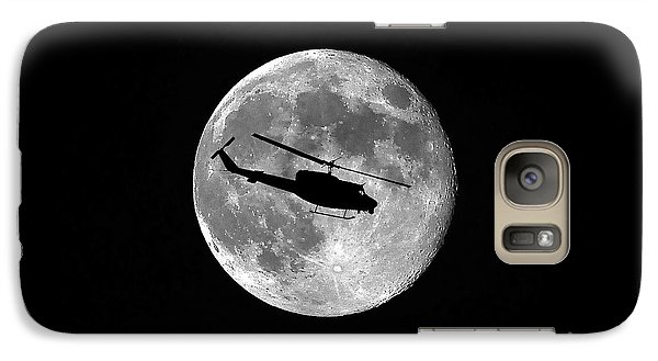 Helicopter Galaxy S7 Case - Huey Moon by Al Powell Photography USA