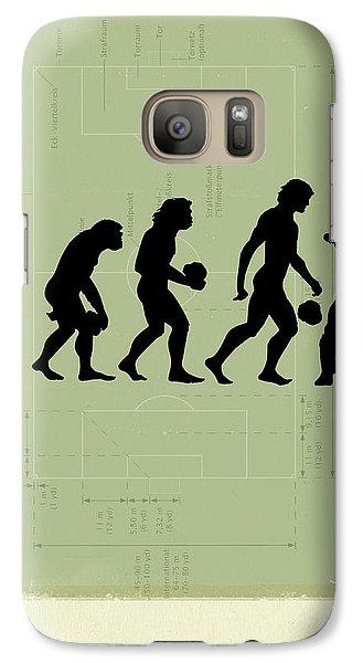 Human Evolution Galaxy S7 Case
