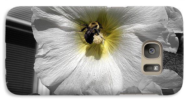 Galaxy Case featuring the photograph Humble Bumblebee by Deborah Fay