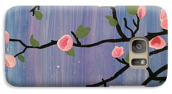 Galaxy Case featuring the painting Humble Splash by Marisela Mungia