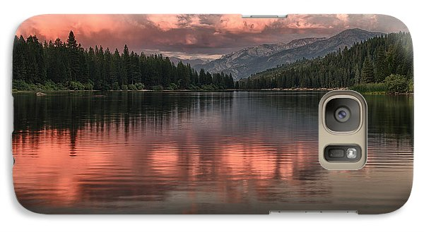 Galaxy Case featuring the photograph Hume Lake Sunset by Terry Garvin