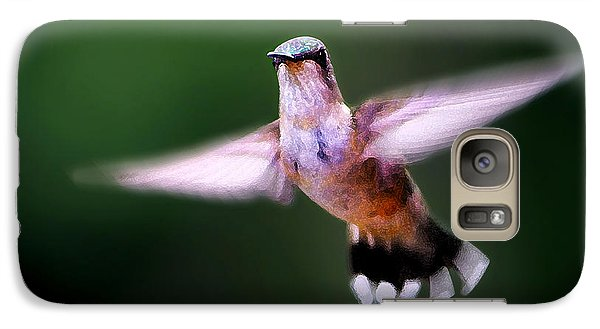 Galaxy Case featuring the photograph Hummer Ballet 3 by ABeautifulSky Photography