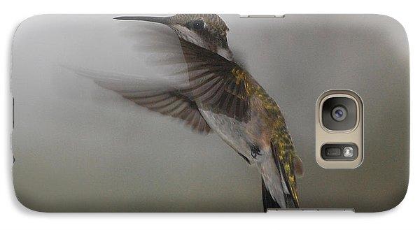 Galaxy Case featuring the photograph Hummingbird 6 by Leticia Latocki