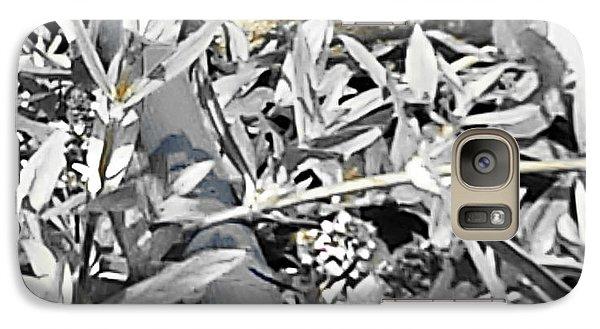 Galaxy Case featuring the photograph Hummingbird Bee Undone by Yolanda Raker