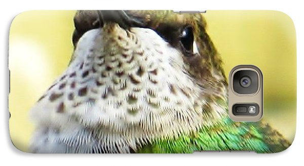 Galaxy Case featuring the photograph Hummingbird Details 2 by Judy Via-Wolff