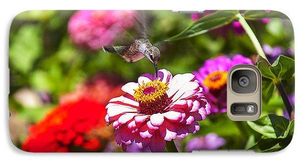 Hummingbird Flight Galaxy S7 Case by Garry Gay