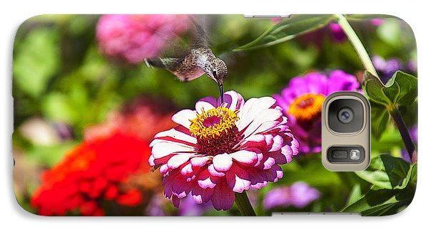 Hummingbird Flight Galaxy Case by Garry Gay
