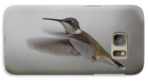 Galaxy Case featuring the photograph Hummingbird  by Leticia Latocki