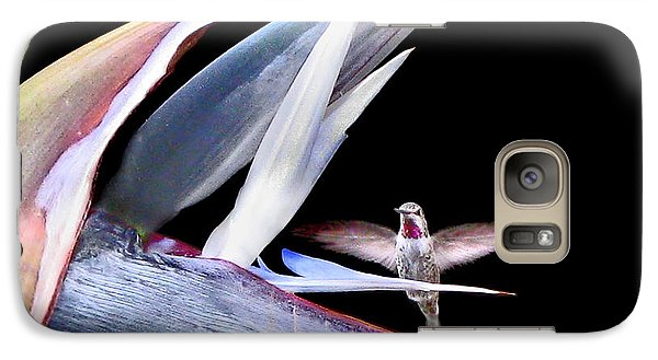 Galaxy Case featuring the photograph Hummingbird Paradise by Jennie Breeze