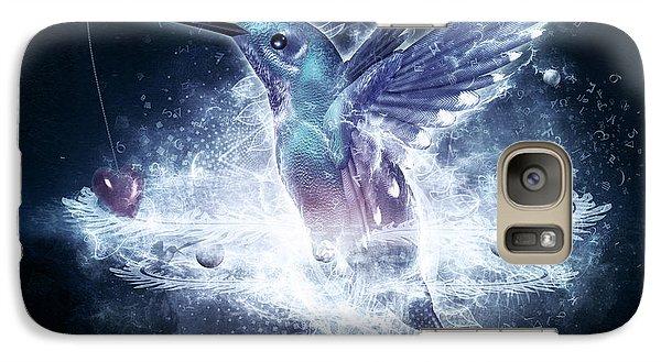 Hummingbird Print Galaxy S7 Case