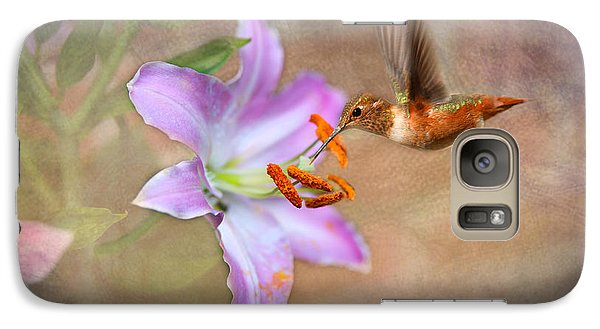 Galaxy Case featuring the photograph Hummingbird Sweets by Mary Timman