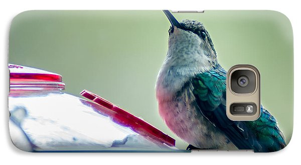 Galaxy Case featuring the photograph Hummingbird by Todd Soderstrom