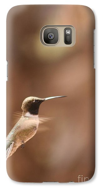 Galaxy Case featuring the photograph Hummmmm by Nola Lee Kelsey
