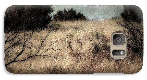 Galaxy Case featuring the photograph Hunter And The Hunted by Karen Slagle