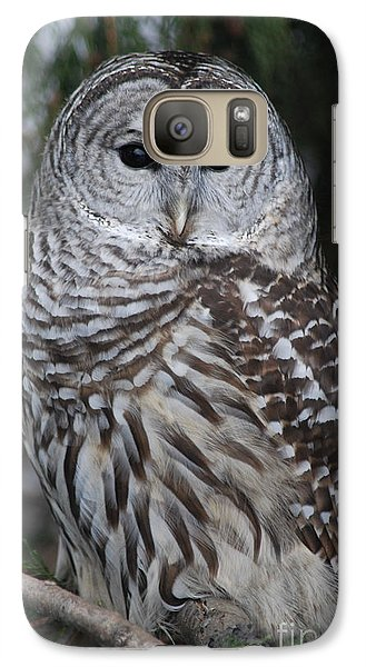Galaxy Case featuring the photograph Hunter by Sharon Elliott