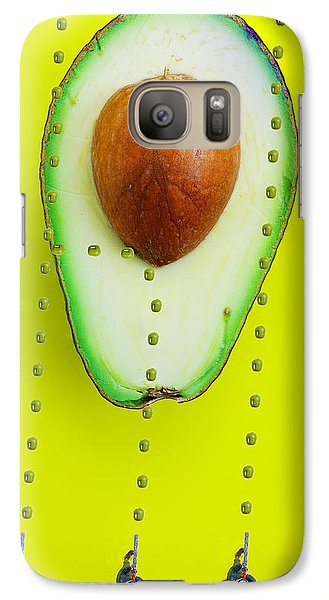 Galaxy Case featuring the photograph Hunters Depicting Rutherford Atomic Model By Avocado Food Physics by Paul Ge