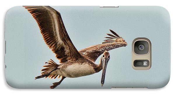 Galaxy Case featuring the photograph Hunting Bait Fish by Don Durfee