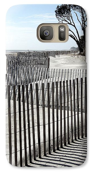 Galaxy Case featuring the photograph Hunting Island - 6 by Ellen Tully