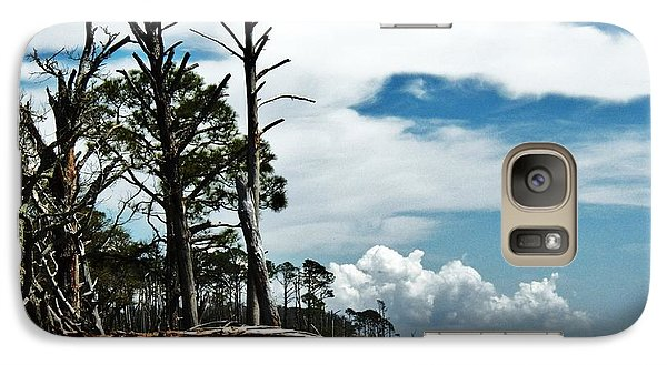 Galaxy Case featuring the photograph Hurricane Trail by Faith Williams