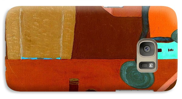 Galaxy Case featuring the painting Hussongs Cantina Baja by Bill OConnor