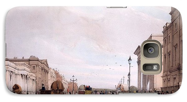 Hyde Park Galaxy S7 Case - Hyde Park Corner, Looking by Thomas Shotter Boys