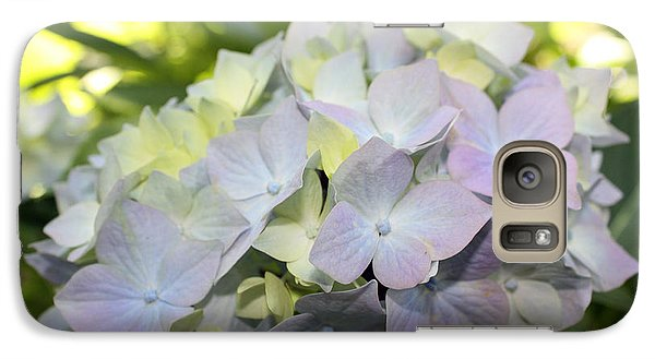 Galaxy Case featuring the photograph Hydrangea by Gerry Bates