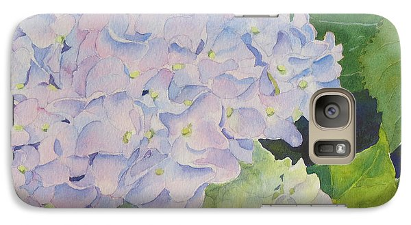 Galaxy Case featuring the painting Hydrangea by Judy Mercer
